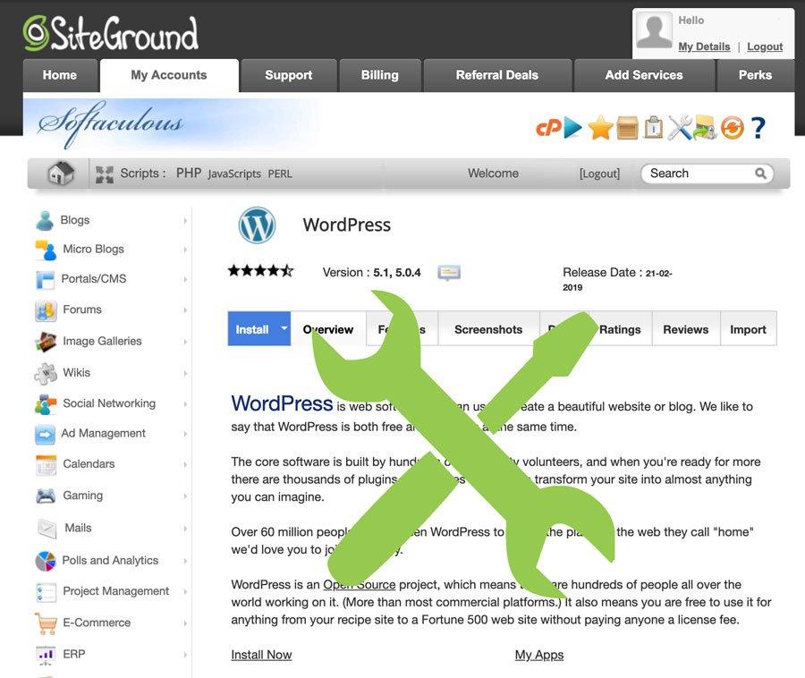 Installing wordpress mamp